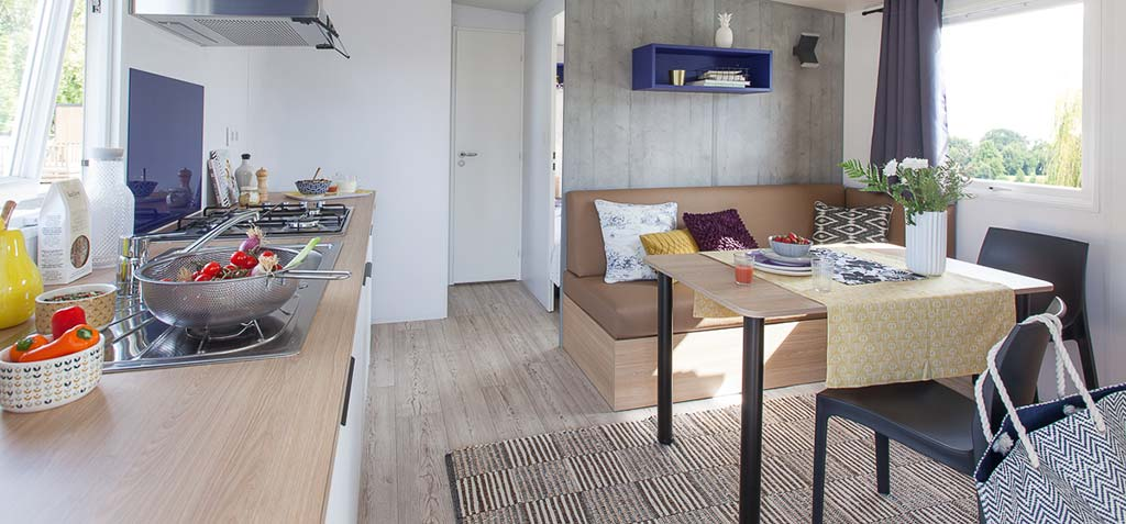 Mobilhome Cottage 2 chambres 4 personnes