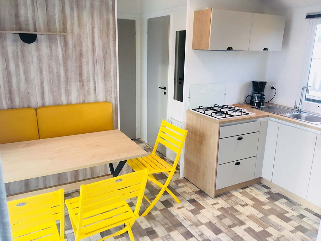 Mobilhome Grand Cottage 3 ch 6 personnes