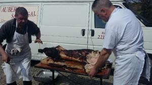 cochon grillé